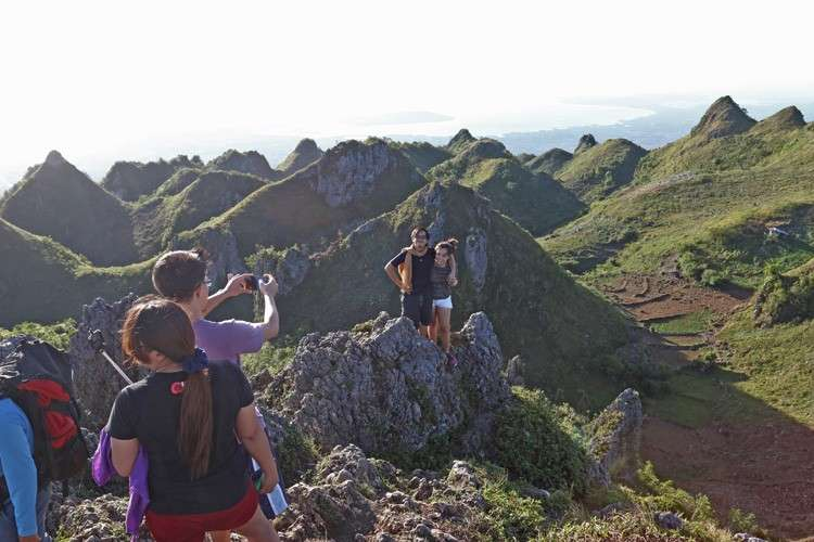 Osmeña Peak, Mt. Mantalungon in Dalaguete, Cebu. (SunStar file)
