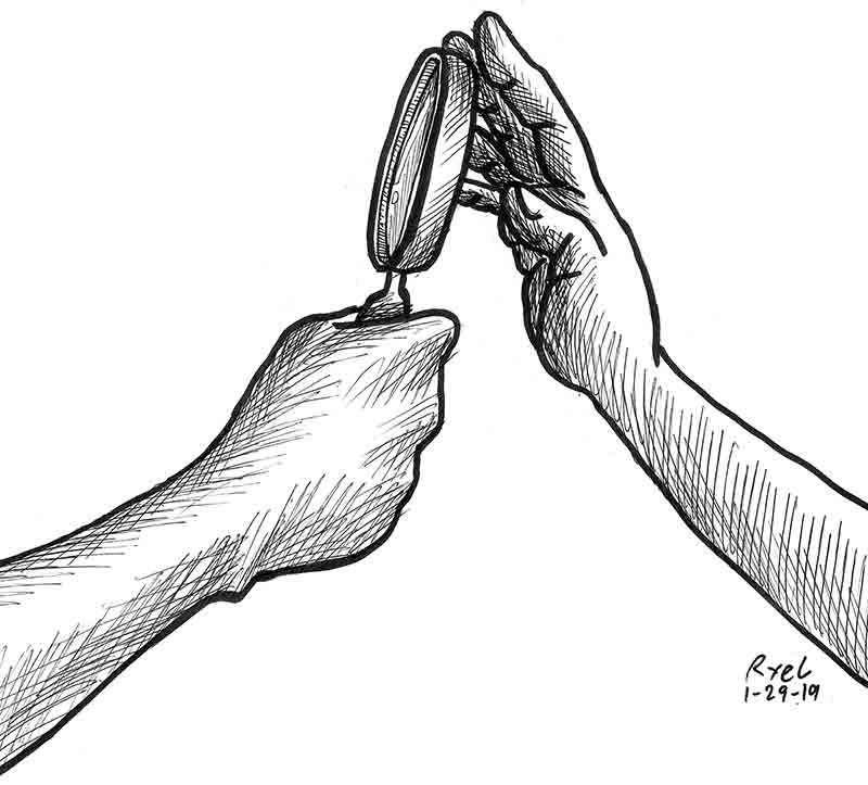 Editoryal Cartoon by:  Ariel Itumay