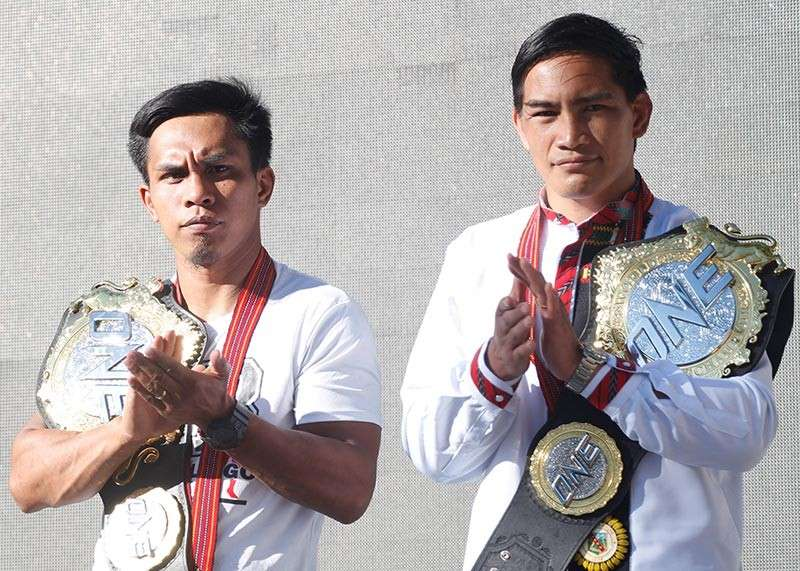 BAGUIO. While Kevin Belingon is set for a third match against Bibiano Fernandes, Eduard Folayang top bills ONE Championship's first event in Japan on March 31 slated at the Ryogoku Kokugikan in Tokyo. (Photo by Jean Nicole Cortes)