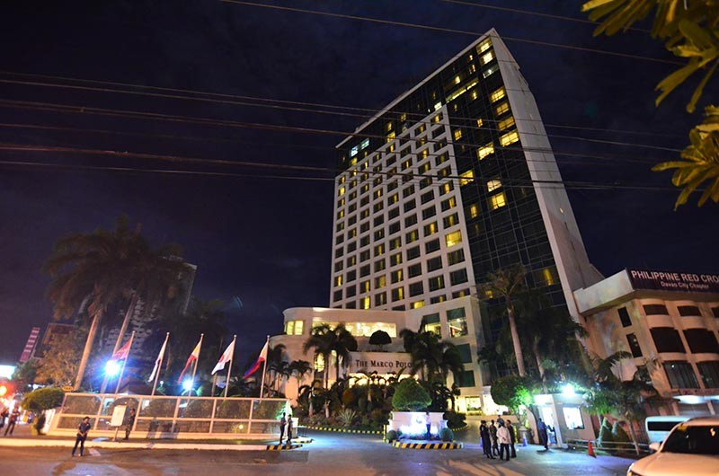 DAVAO. The Department of Tourism Davao regional office will be intensifying its efforts to accredit more hotels in Davao Region. Marco Polo Hotel Davao is among the 29 DOT-accredited hotels in Davao Region. (Photo by Macky Lim)