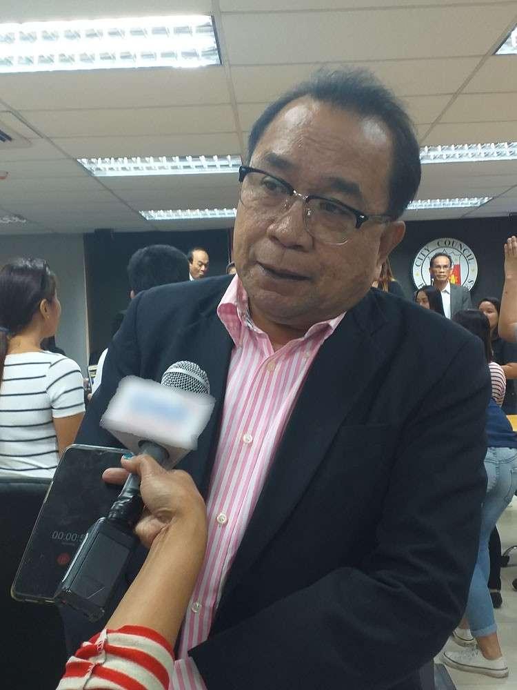 Iloilo City Councilor Joshua Alim  (Photo by Carolyn Jane Abello)