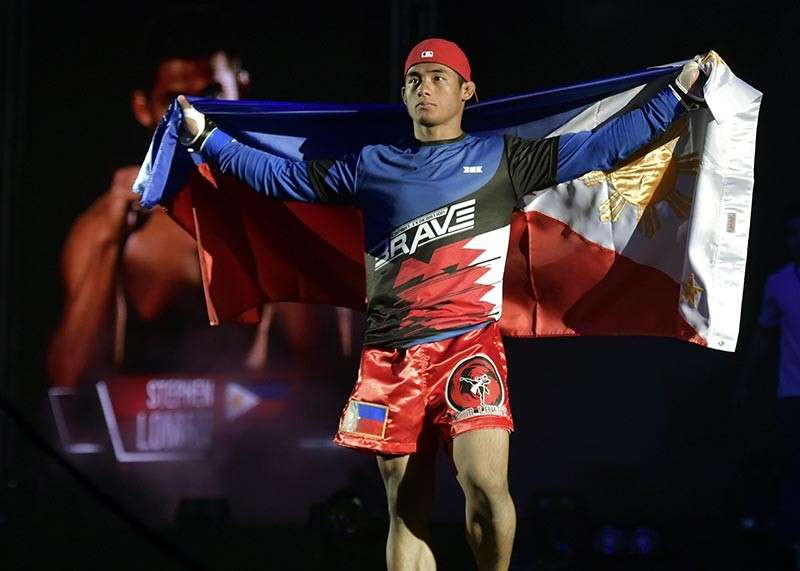 BAGUIO. Stephen Loman is set to carry the country's flag anew when he defends his Brave Combat Federation bantamweight title on March 15 in the promotion's first venture in the Philippines. (Photo courtesy of Brave CF)