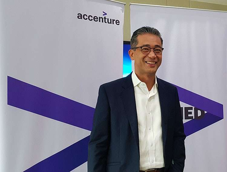 MANILA. Lito Tayag, Accenture country managing director. (Photo from Accenture)