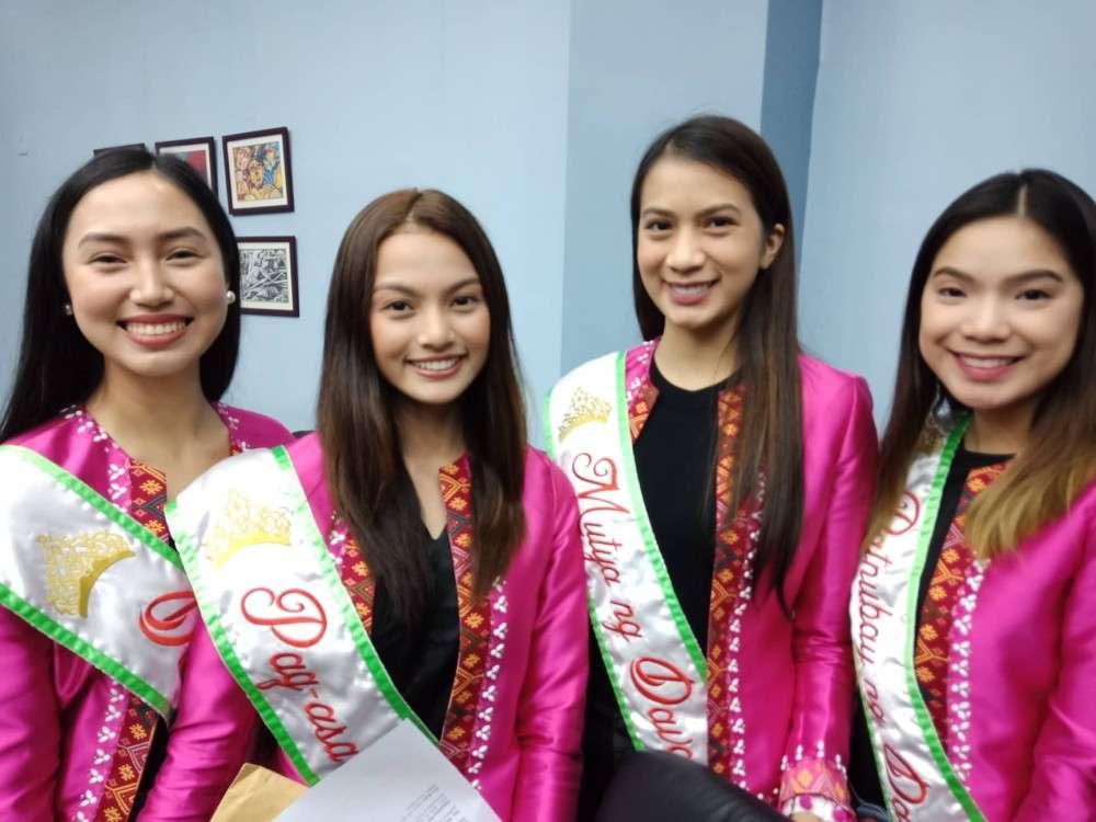 Mutya ng Davao 2018 Shiela Faye Juntilla with her court (Lyka Amethyst H. Casamayor)