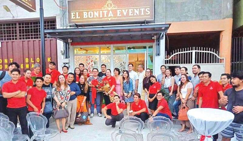 DAVAO. The El Bonita Events office provides space for clients to consult the team with regards their needs.