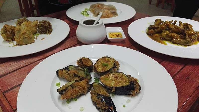 Some of the food dishes you'll find in Binondo888. (Claire Marie Algarme)