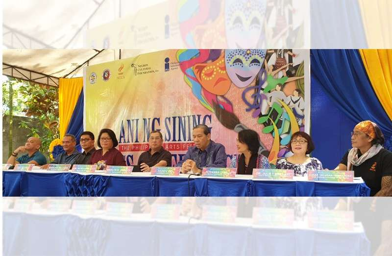 NEGROS. The National Commission for Culture and the Arts led by Teddy Co and National Committee Chair on cinema deputy executive director Marichu Tellano, along with Bago City Mayor Nicholas Yulo, during the opening rites held at the Balay ni Tan Juan in Bago City on Thursday, January 31. (Carla Cañet)