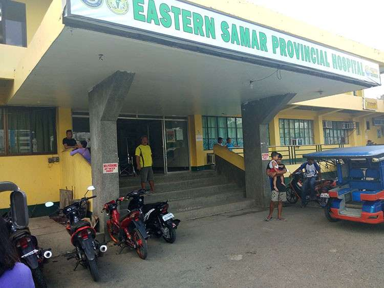 EASTERN SAMAR. A banner program of Eastern Samar Acting Governor Marcelo Picardal has brought reforms to the operations of the hospitals in the province. (Photo by Denis Hector Badajos)