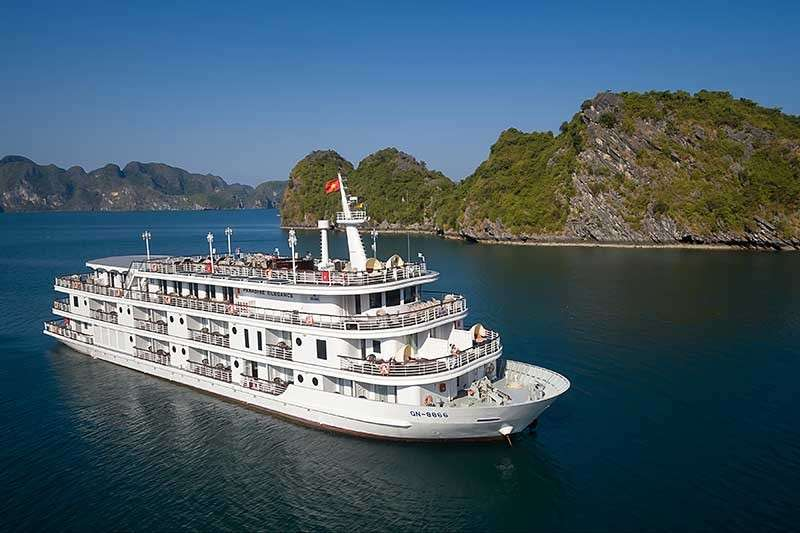 DAVAO. Cruise Halong Bay on board Paradise Elegance, one of the cruises offered by Paradise Vietnam. (Jinggoy I. Salvador)