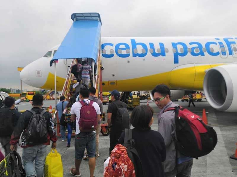 DAVAO. Following the rising demand of in-flight passengers and cargo, Cebu Pacific Air, along with its wholly-owned subsidiary Cebgo, is presently studying more direct flight to and from Davao City. (Ace Perez)