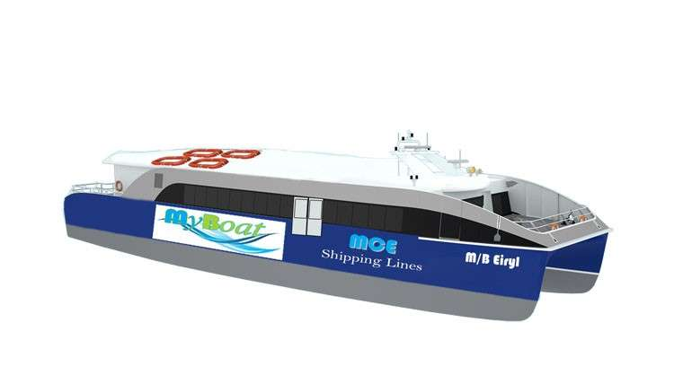 MyBoat. With a seating capacity of 64 passengers and travel time of about 30 minutes, MyBoat hopes to become the preferred mode of transport  for commuters. (Contributed Photo)