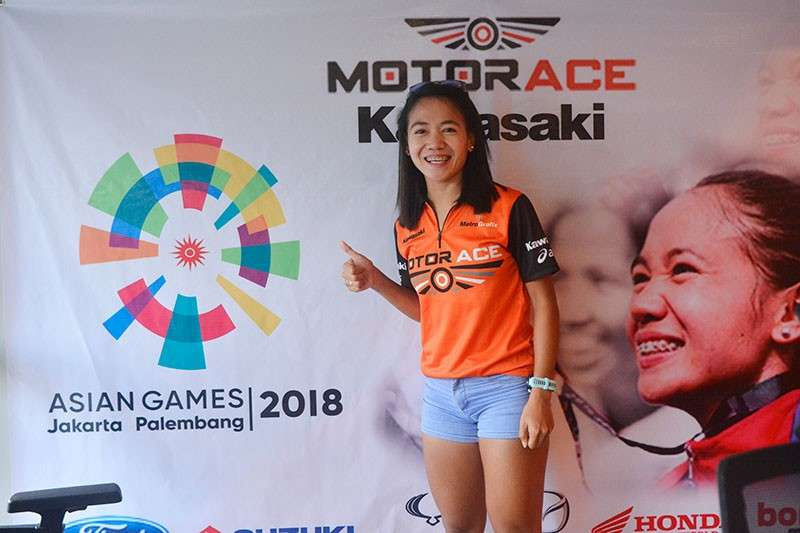 JAPAN-BOUND. Mary Joy Tabal will train twice in Japan this year, the first time for her Olympic qualifier and the second time for her Southeast Asian Games campaign. (SunStar File Photo)