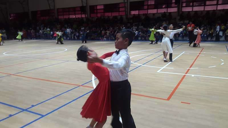 The Oro bets in dancesport competition that starts Monday, February 4, at the RDR gym in Tagum City. (Lynde Salgados)