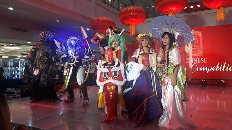 CAGAYAN DE ORO. The winners of the second season of Cagayan de Oro City's Chinese Cosplay Competition: Cosplay Masters Herminia Tan (cloth category) and Victoriano Dan (armor category); second placers Armodia Ma. Rhenia (cloth category) and Wilfred Aquino (armor category); and third placers Preciso Myrrha (cloth category) and John Michael Go (armor category). (Jo Ann Sablad)
