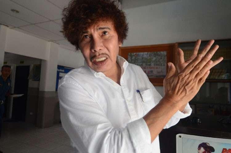 CEBU. Ruben Feliciano, mayoral candidate of San Fernando town in Cebu. (Photo by Alan Tangcawan)