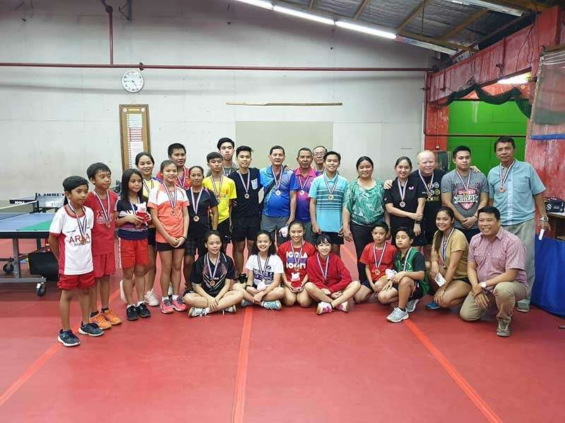 BACOLOD. Winners of the recently concluded Lopue's-Bacolaodiat Invitational Table Tennis tournament. (Contributed photo)