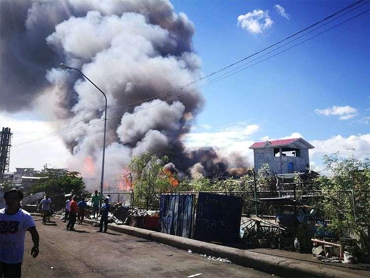 3-hour inferno rages in 3 sitios in Ermita