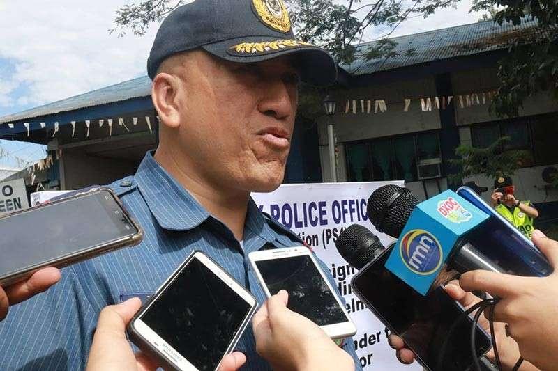 DAVAO. Davao City Police Office (DCPO) director Police Senior Superintendent Alexander Tagum. (Juliet Revita)