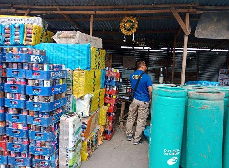 P1.7 MILLION WORTH SEIZED. Batas Pambansa 33, as amended by Presidential Decree 1865, prohibits the illegal trading of petroleum products.  (SunStar photo / Alan Tangcawan)