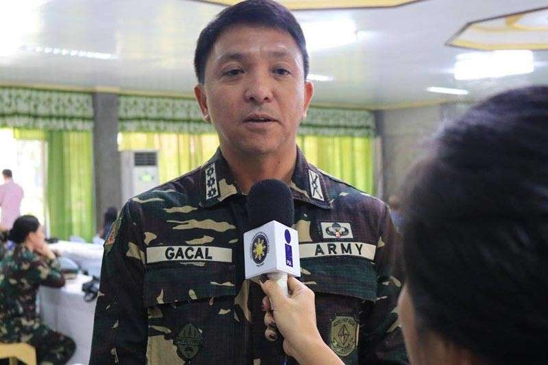 Brigadier General Franco Nemesio Gacal (Photo grabbed from pia.gov.ph)