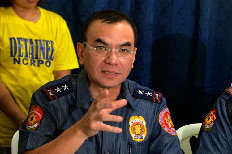 MANILA. National Capital Region Police Office Chief Guillermo Eleazar. (Al Padilla/SunStar Philippines)