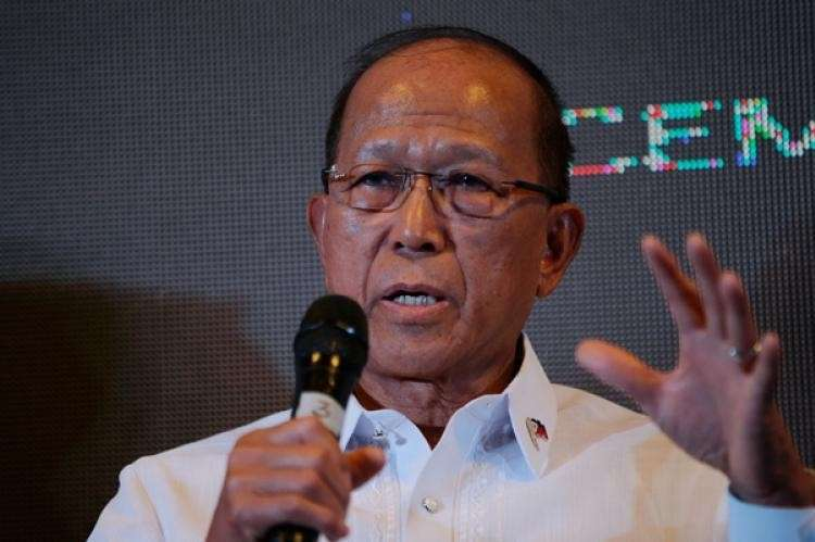 MANILA. Department of National Defense Secretary Delfin Lorenzana. (SunStar File)