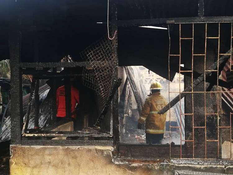The Bureau of Fire Protection are asked to submit a report 72 hours after the fire. (SunStar photo/Allan Cuizon)