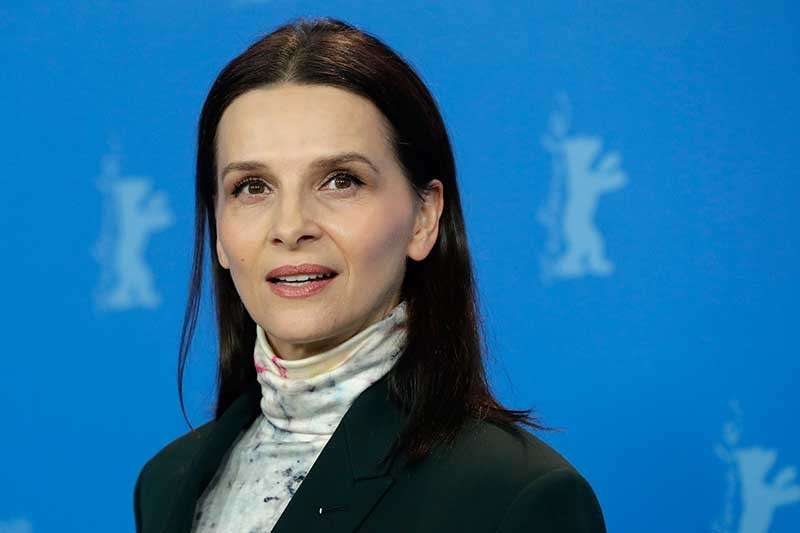 GERMANY. Jury president Juliette Binoche poses for the photographers during a photo call at the 2019 Berlinale Film Festival in Berlin, Germany, Thursday, Feb. 7, 2019. (AP)