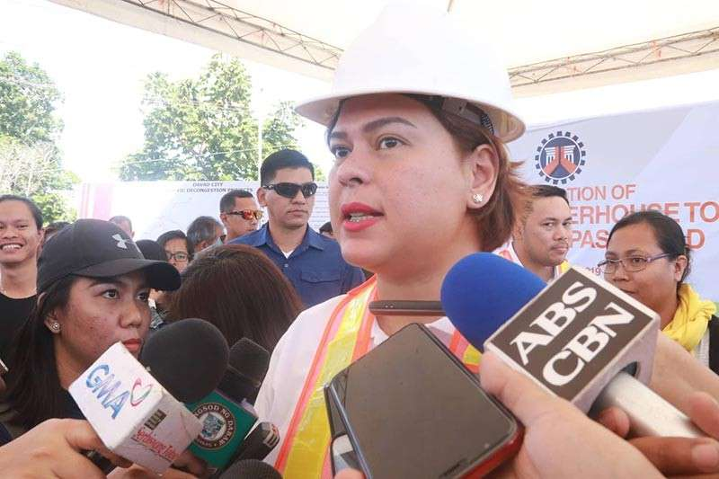 Davao City Mayor Sara Duterte-Carpio (Photo by Juliet C. Revita)