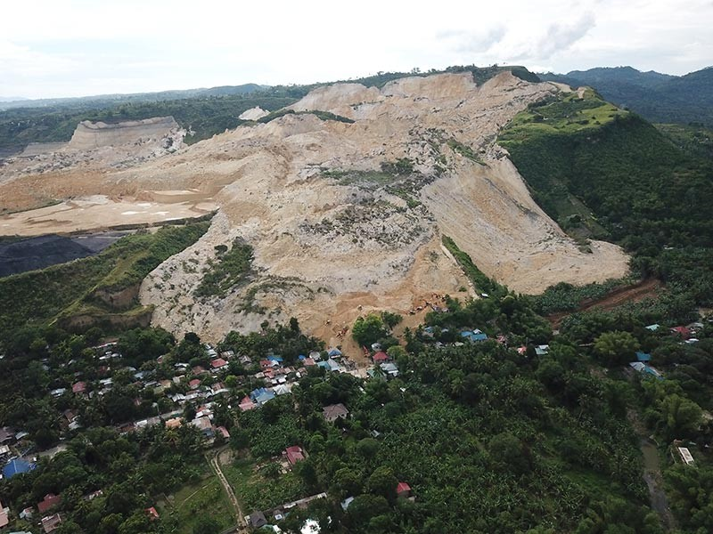 Landslide. As the Apo Land and Quarry Company was suspended, Cemex Holdings Philippines had to seek other sources of raw materials. (SunStar file)