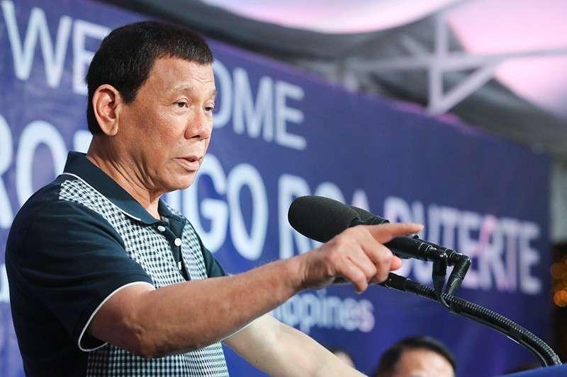 President Rodrigo Duterte (Presidential Communications Facebook page)
