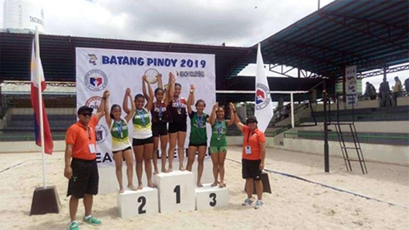 DAVAO. The Oro volley girls spikers triumphant in Batang Pinoy Mindanao (Contributed Photo)