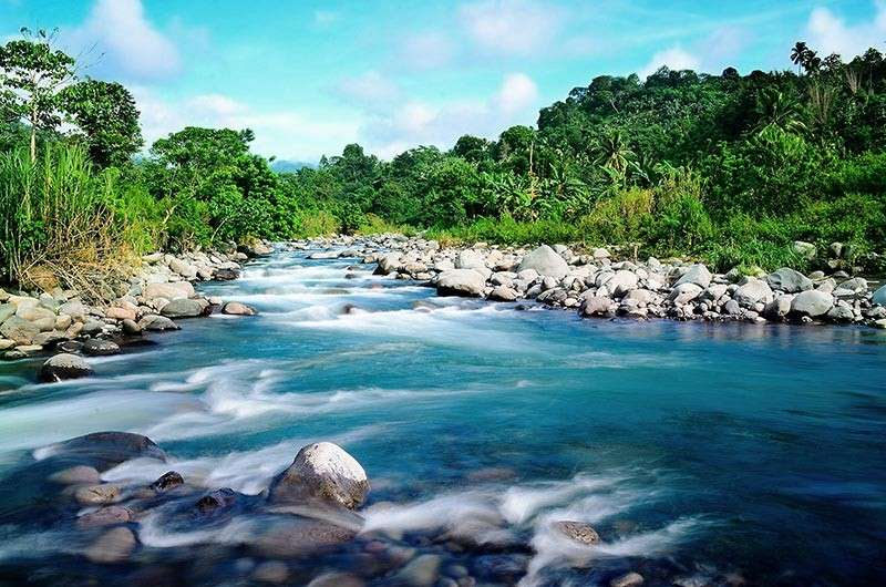DAVAO. The Tamugan River will be the source of the Davao City Bulk Water Supply Project of Apo Agua. the project is expected to increase DCWD's water supply to over 300 million liters a day. (Apo Agua Photo)