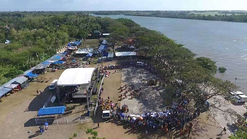 BAGO. An aerial view of the Bantayan Park in Bago City that will host various agriculture-related activities during the city's 53rd Charter Anniversary starting on Tuesday, February 12. (Contributed photo)