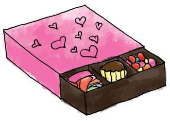 Candy box (Illustration by Dexter A. Duran)