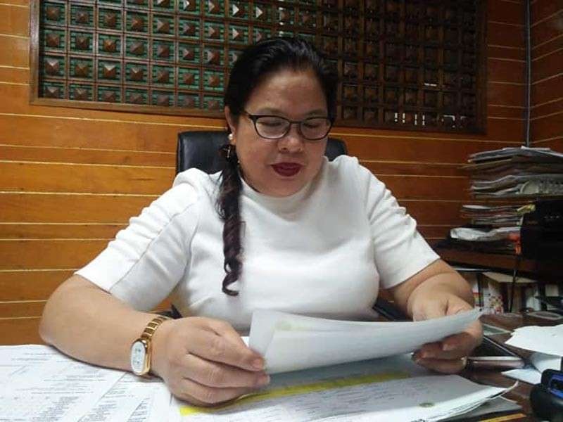 DAVAO. Department of Health-Davao Director Annabelle P. Yumang. (Contributed photo)