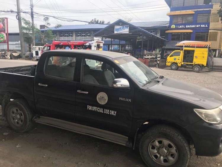 CEBU. The government-owned vehicle in question, which Councilor Joel Garganera, allegedly failed to return. (SunStar)