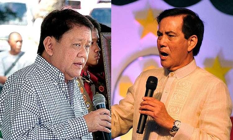 CEBU. Cebu City Mayor Tomas Osmeña (left) and former mayor Mike Rama. (SunStar File)