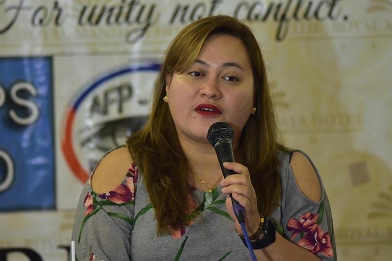 Commission on Elections (Comelec)-Davao spokesperson Krisna Samantha Caballero. (Photo Juliet C. Revita)