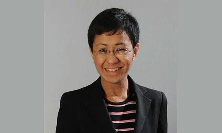MANILA. Maria Ressa, chief executive officer and executive   editor of news website Rappler. (File photo)