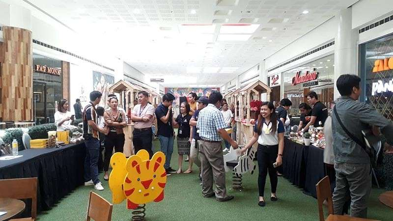 CAGAYAN DE ORO. First ever Northern Mindanao local Chocolate Festival held at the 5th floor of SM CDO Downtown Premier. The event, a collaboration between SM and the Department of Trade and Industry (DTI)-Northern Mindanao, will run from February 13 until 16. (Jo Ann Sablad)