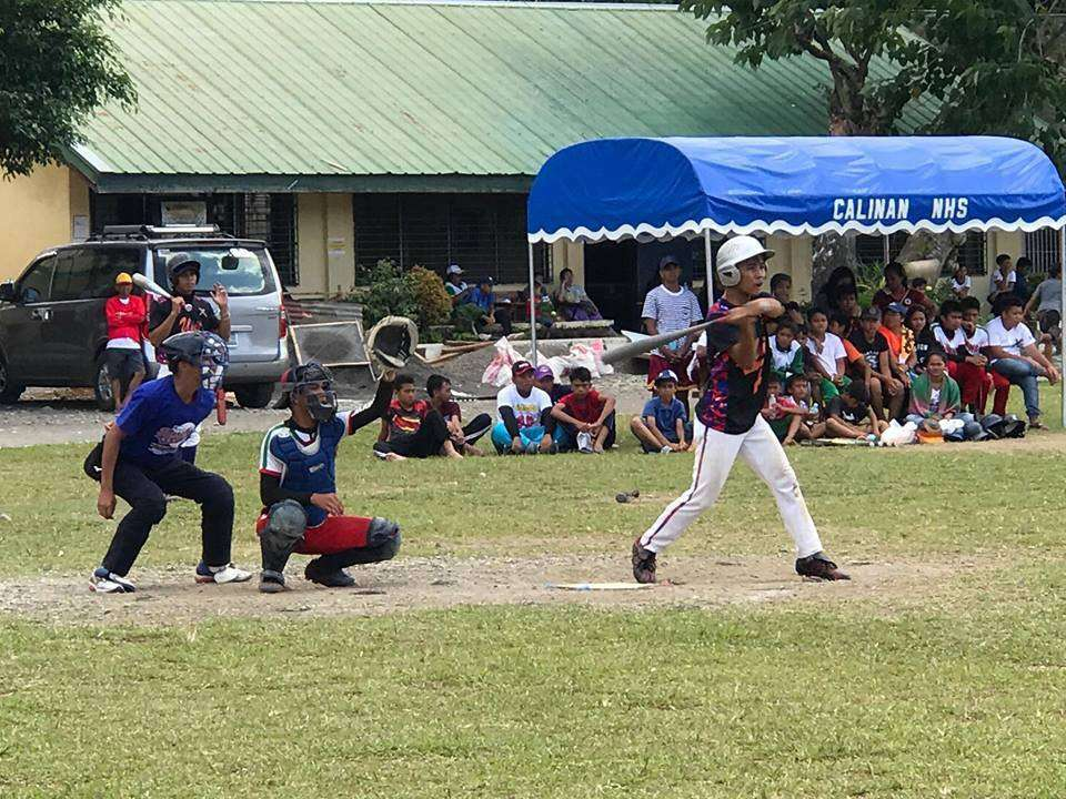 DAVAO. A Baguio National School of Arts and Trade (BNSAT) player gets ready to bat during the 13th Davao City Baseball Cup 2019 held over the weekend at Lt. C. Villafuerte Elementary School in Calinan. (PNJK photo)