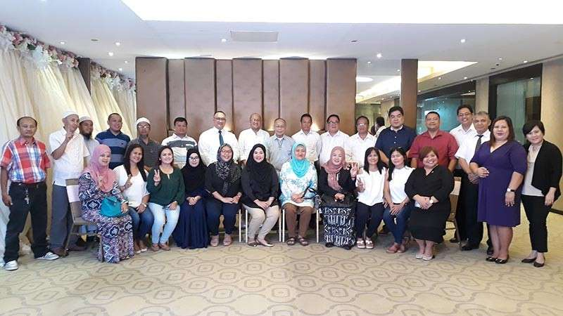 CAGAYAN DE ORO. The Cagayan de Oro Interfaith Luncheon was joined by various religious leaders, members of the academe and the City Government. It was held last Saturday, February 9 at Limketkai Luxe Hotel in this city. (Jo Ann Sablad)