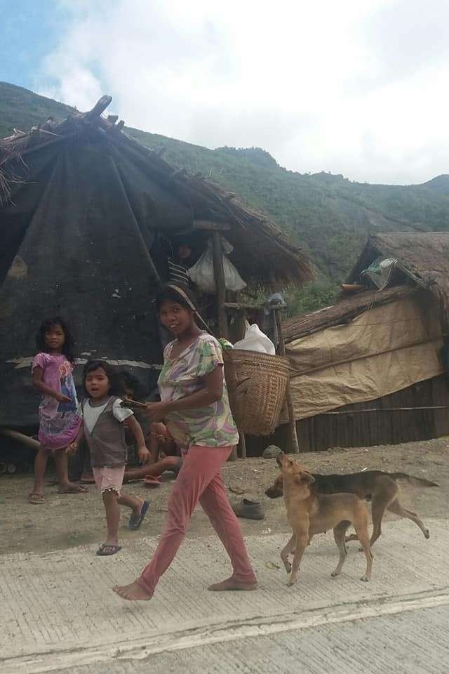 TALAINGOD. Living a simple life. The Talaingod manobo tribe in the mountains of Davao del Norte. (Photo by Lorebina Carrasco II)