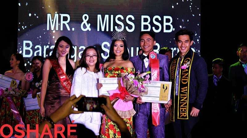 BAGUIO. Mr. and Ms. Barangay Scout Barrio 2019 winners are Mr. Carl Austin Lacanlale and Ms. Maureen Mabanta. (Contributed photo)
