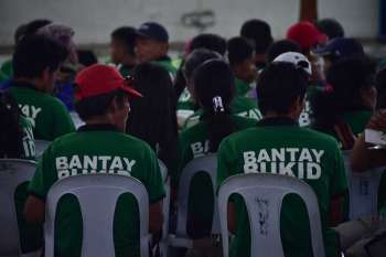 DAVAO. Bantay-Bukid volunteers during the Panagtagbo annual event. (Photo by Macky Lim)