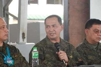 Eastern Mindanao Command (Eastmincom) commander Major General Felimon Santos Jr. (Photo by Juliet C. Revita)