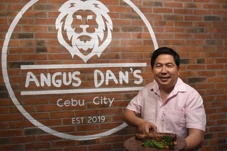 """CEBU. After the success of several of his food businesses, entrepreneur, Constantine """"Stan"""" Tanchan is expanding his food business as he opens Angus Dan's. (SunStar photo/Allan Cuizon)"""
