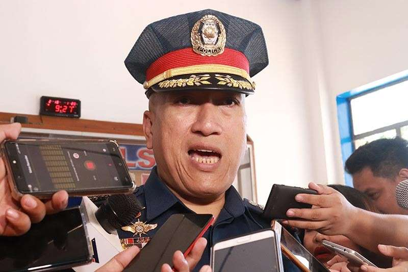 DCPO director Police Senior Superintendent Alexander Tagum. (Photo By Juliet Revita)