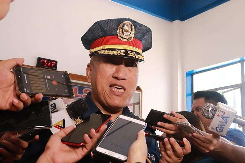 DAVAO. Police Senior Superintendent Alexander Tagum, Davao City Police Office director, says more than 3,000 have been caught for traffic violations. (Photo by Juliet Revita)